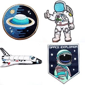 Accessories - Space Patches, Iron On, Planet, NASA, Astronaut